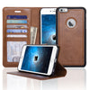 NAVOR - ZEVO-D Magnetic Detachable Folio Wallet Case for iPhone 6 Plus/ 6S Plus [5.5 Inch]