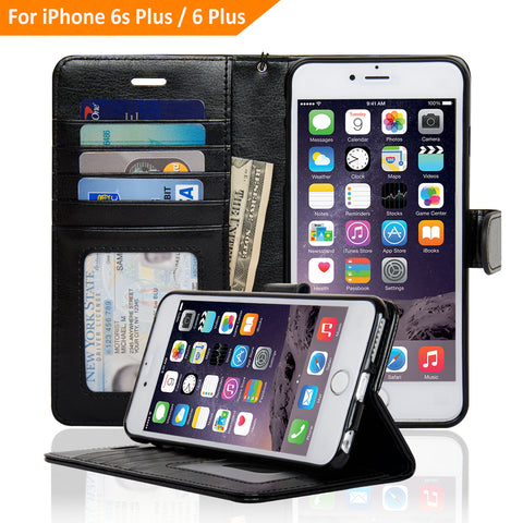 5.5-inch iPhone 6/6S Plus Wallet Case - Navor