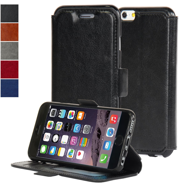 4.7-inch iPhone 6/6S Ultra Slim Wallet Case - Navor