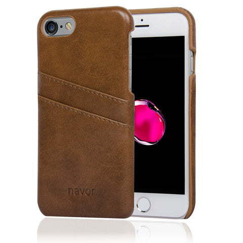 NAVOR Indus Series Premium Wallet Case for iPhone 7 / 7S & 8