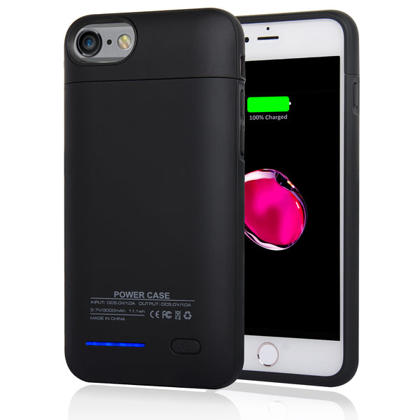 Navor Magnetic Extended Protective Battery Case 3000mAh for iPhone 6, 7, 8