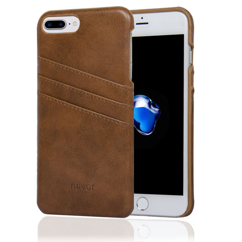 NAVOR Indus Series Premium Wallet Case for iPhone 7 Plus / 8 Plus