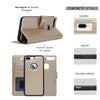 Navor iPhone 7 Plus & 8 Plus Case Detachable Magnetic Wallet with RFID Protection