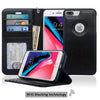 Navor Auto Align Detachable Magnetic Wallet Case Compatible for iPhone 8 Plus [RFID Theft Protection] JOOT-1L Series