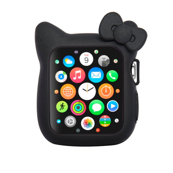 Navor Soft Silicone Protective Cute Kitty Case Cover Case Compatible with Apple Watch