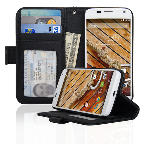 Motorola Moto X First Generation Wallet Case - Navor