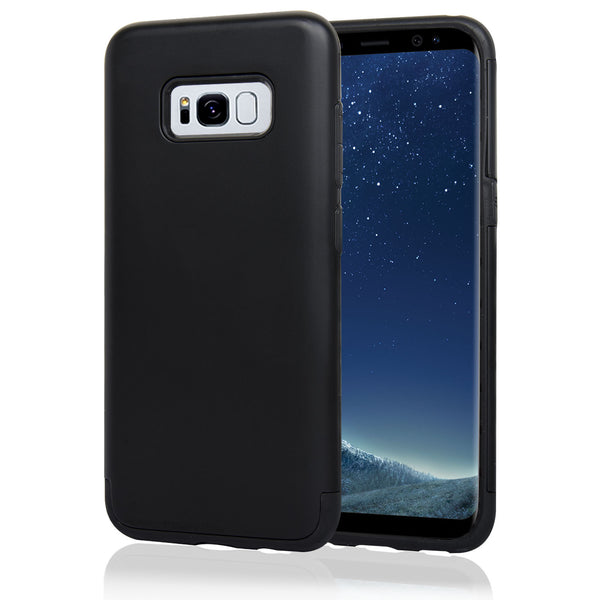 Navor Samsung Galaxy S8 Heavy Duty Shockproof TPU Hybrid Dual Layer Bumper Case