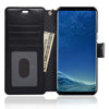 NAVOR Zevo Samsung Galaxy S8 Wallet Case Slim Fit Light Premium Flip Cover with RFID Protection