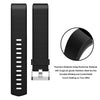 Soft TPU Silicone Replacement Sport Band Fitness Strap Compatible for Fitbit Charge 2