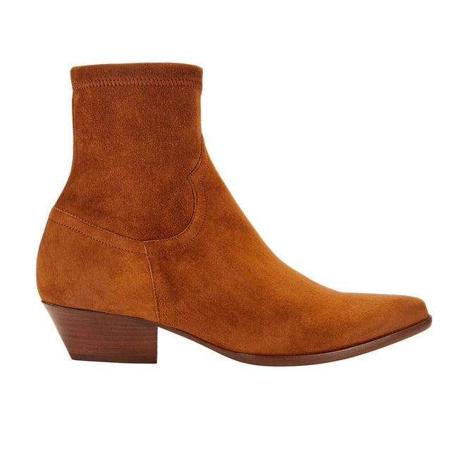 Go West Ankle - Stretch Suede
