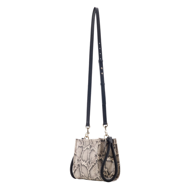 Kiss Mini Bag - Python Print