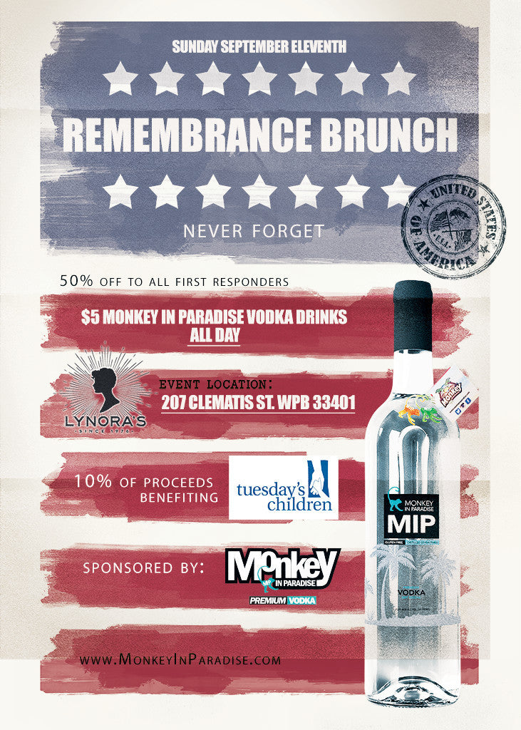 Sunday 09/11 Remembrance Brunch