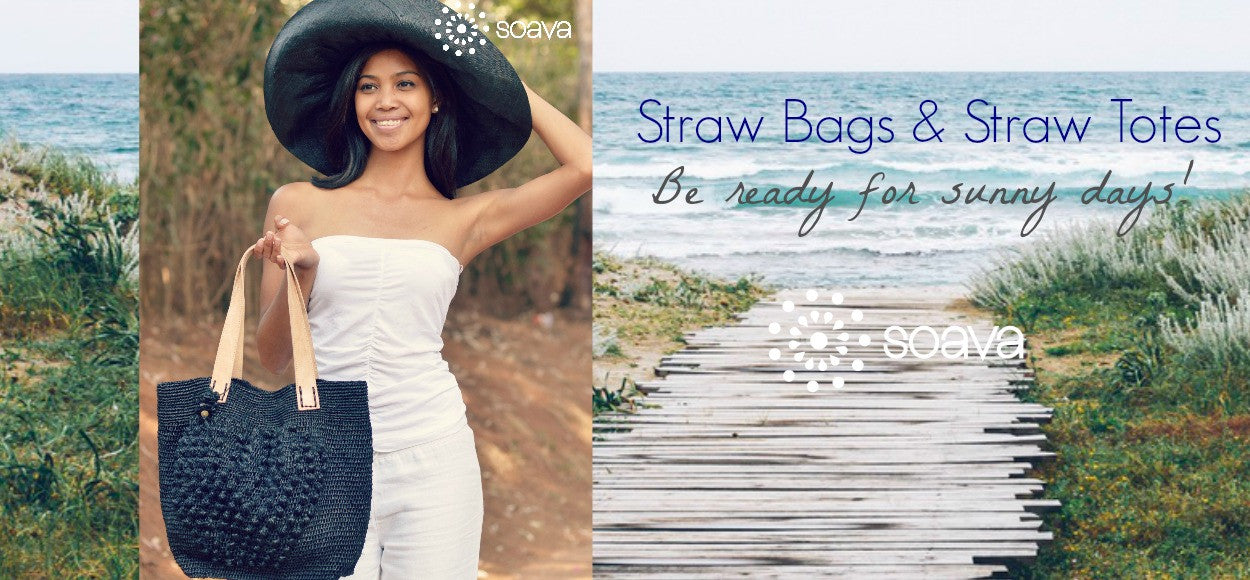 Soava straw handbags & shoulderbags 2016 Collection