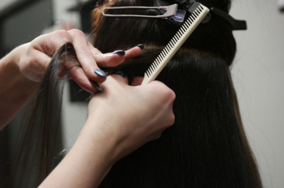 Tape-In Extensions Application Process | Salon X Denver