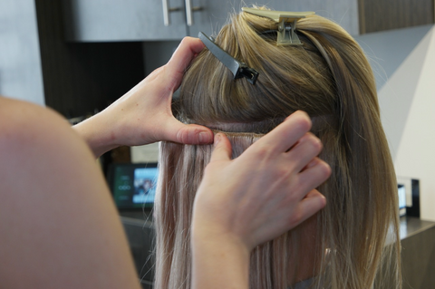 Install the Individual Wefts