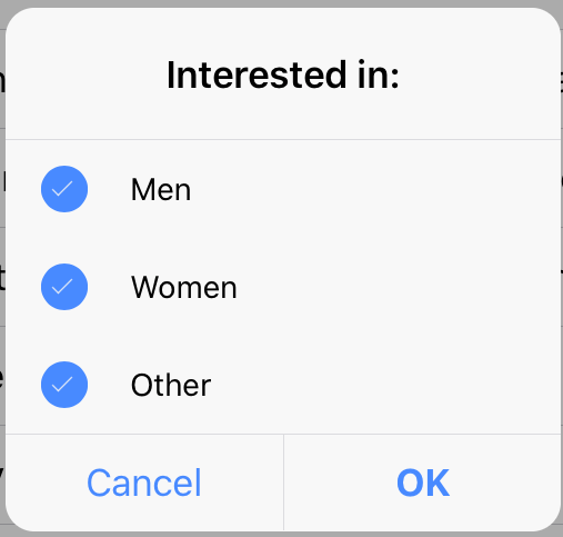 interested in