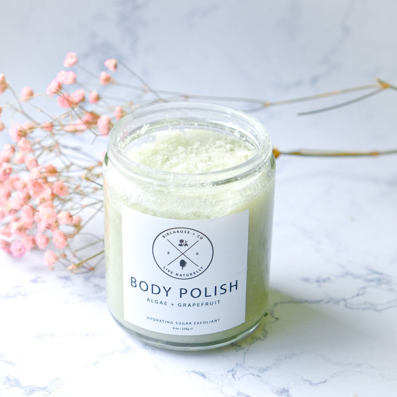 Body Polish - Algae + Grapefruit - Birchrose + Co | Vegan Concept Hong Kong