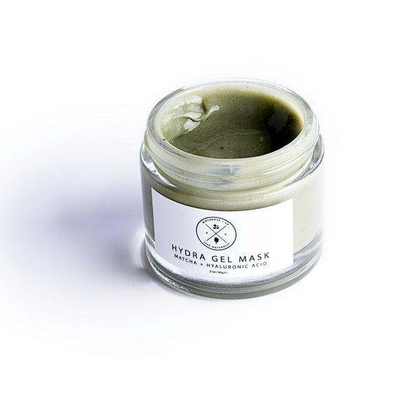 Hydra Gel Mask - Matcha + Hyaluronic Acid - Birchrose + Co | Vegan Concept Hong Kong