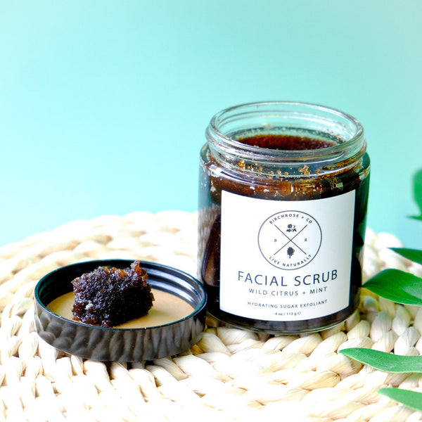 Facial Scrub - Wild Citrus + Mint - Birchrose + Co | Vegan Concept Hong Kong