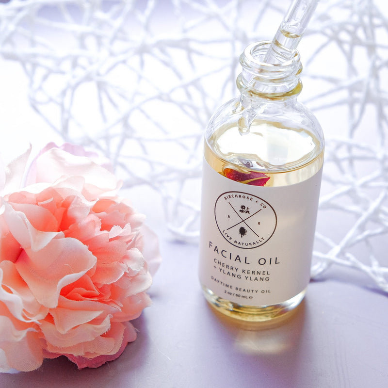 Facial Oil - Cherry Kernel + Ylang Ylang - Birchrose + Co | Vegan Concept Hong Kong