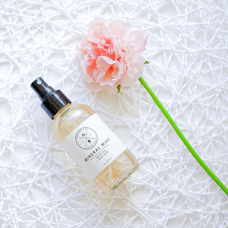 Mineral Mist - White Tea + Rose Mint (To be opened by 1 Aug 2020) - Birchrose + Co | Vegan Concept Hong Kong