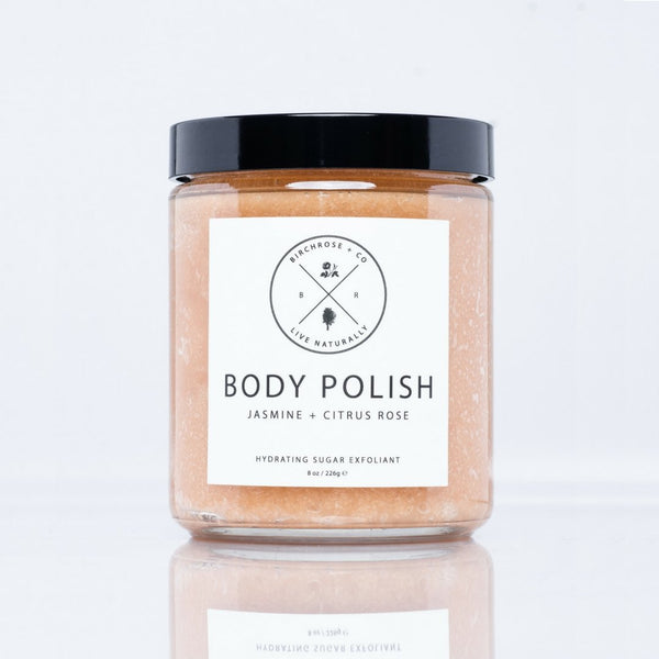 Body Polish - Jasmine +Citrus Rose (To be opened by 1 Feb 2020) - Birchrose + Co | Vegan Concept Hong Kong