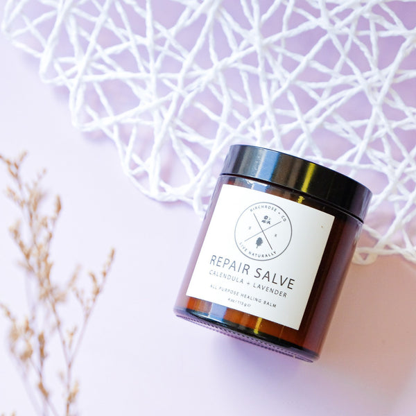 Repair Salve - Calendula + Lavender (To be opened by 1 Aug 2020) - Birchrose + Co | Vegan Concept Hong Kong