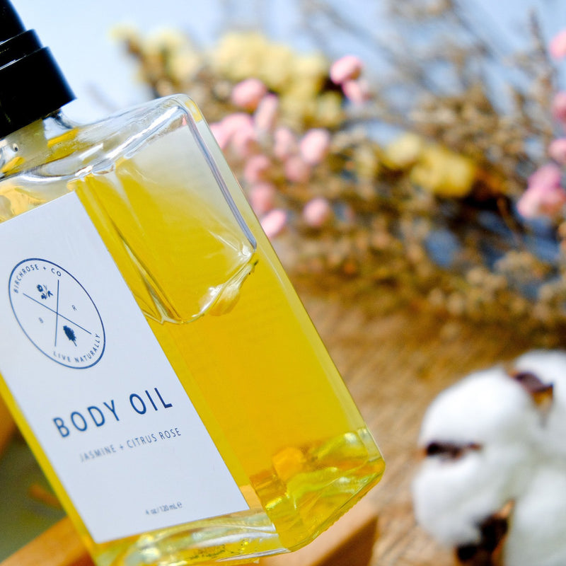 Body Oil - Citrus Rose + Jasmine - Vegan Concept