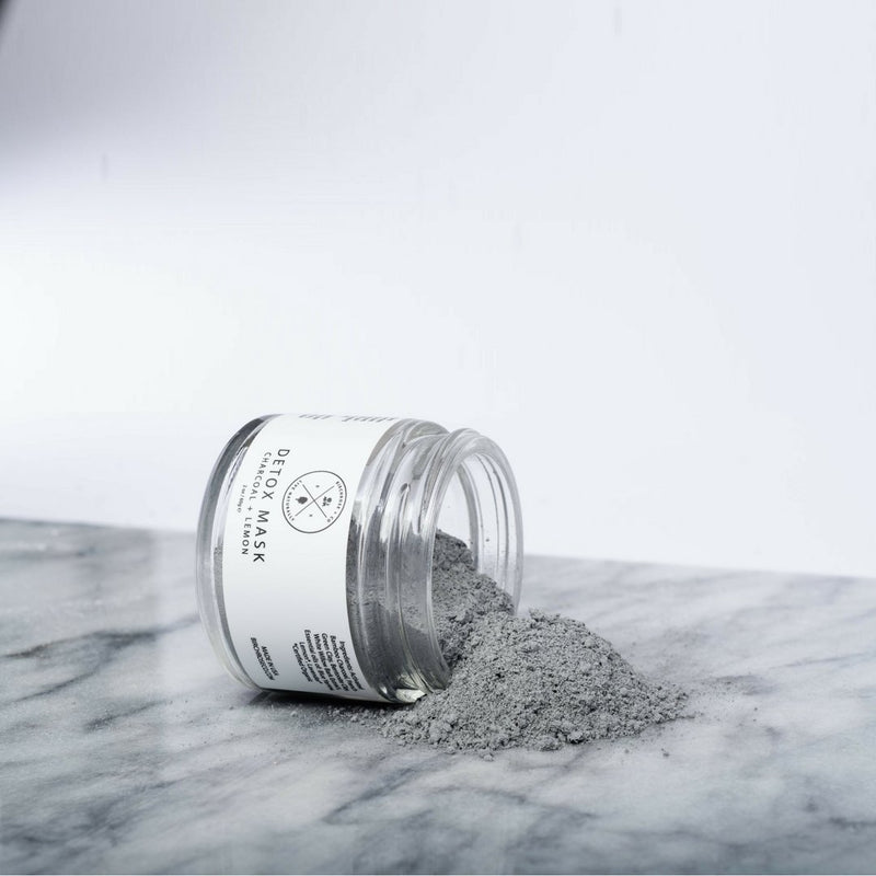 Detox Mask - Charcoal + Lemon - Vegan Concept