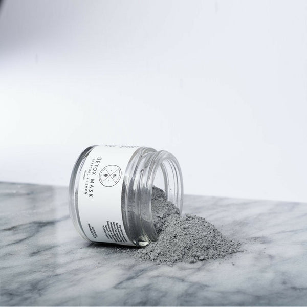 Detox Mask - Charcoal + Lemon (To be opened by 1 Aug 2020) - Birchrose + Co | Vegan Concept Hong Kong