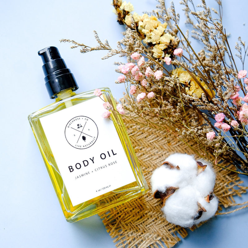 Body Oil - Citrus Rose + Jasmine - Birchrose + Co | Vegan Concept Hong Kong