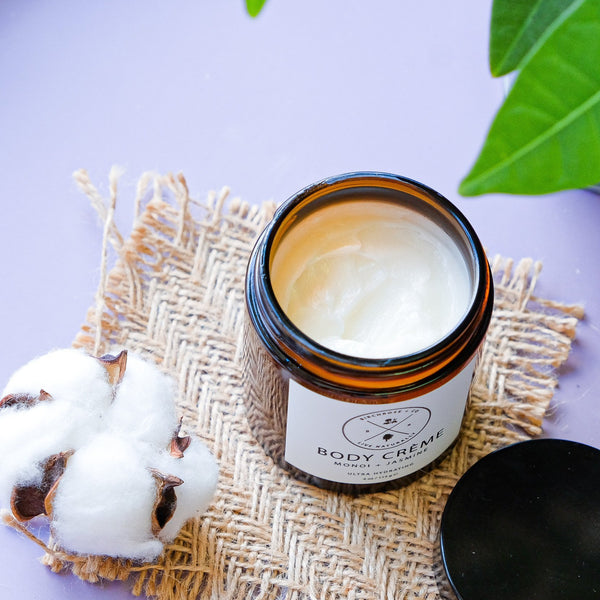 Body Crème - Monoi + Jamsine (To be opened by 1 Aug 2020) - Birchrose + Co | Vegan Concept Hong Kong