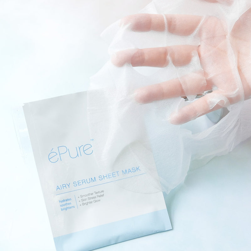 Airy Serum Sheet Mask (single piece) - éPure | Vegan Concept Hong Kong