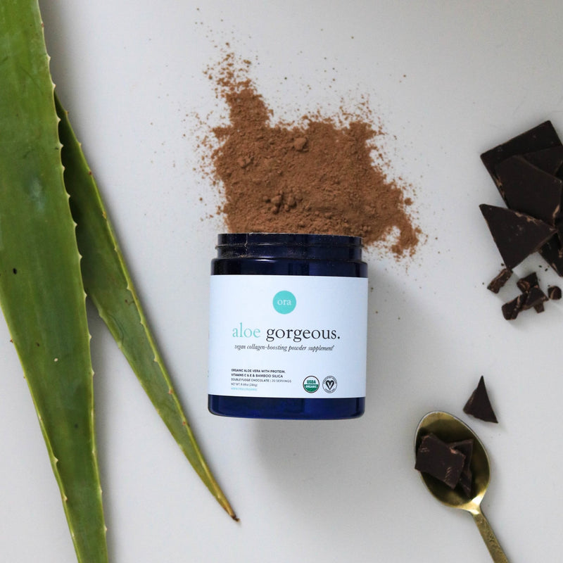 Vegan Collagen-Boosting Powder - Chocolate - 240g
