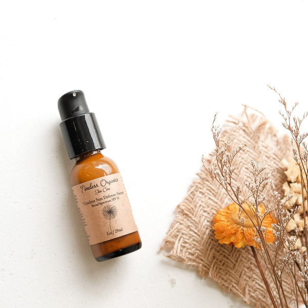 Timeless Sun Defense Serum SPF30 - Timeless Organics | Vegan Concept Hong Kong