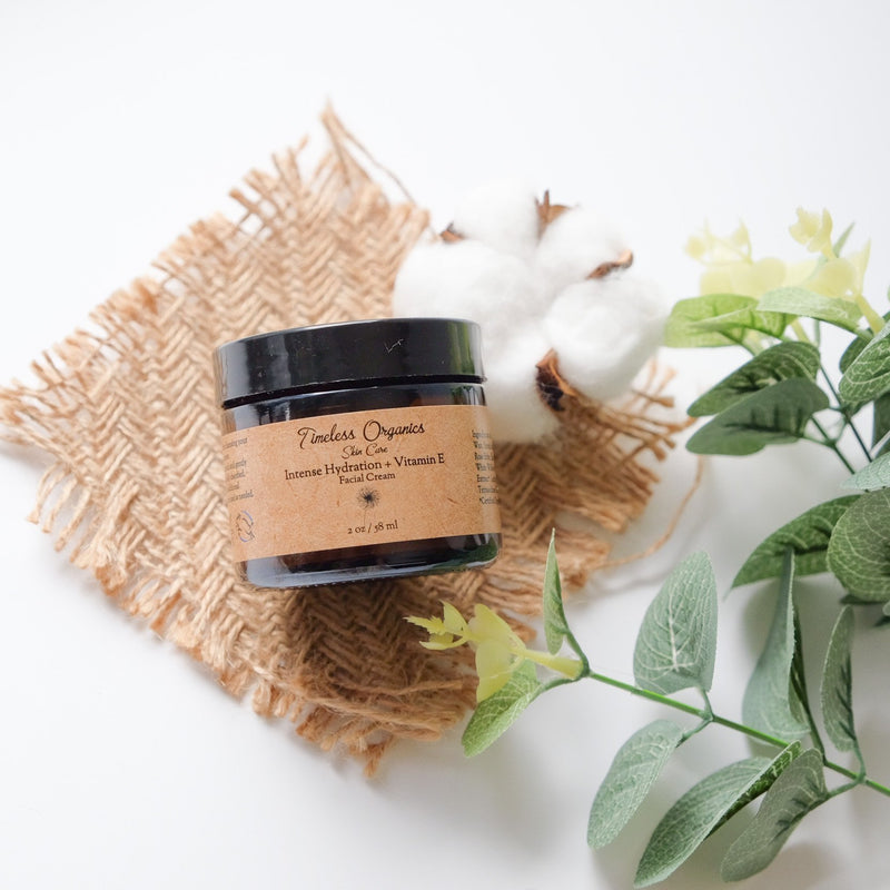 Intense Hydration + Vitamin E Facial Cream - Timeless Organics | Vegan Concept Hong Kong