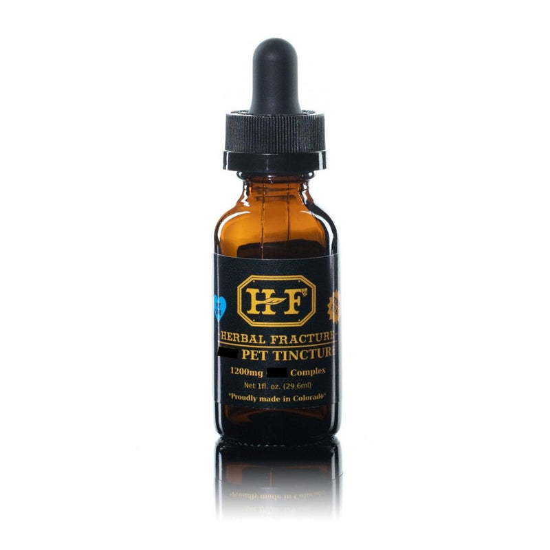 Customized Pet Tincture - 1200mg - Herbal Fracture | Vegan Concept Hong Kong