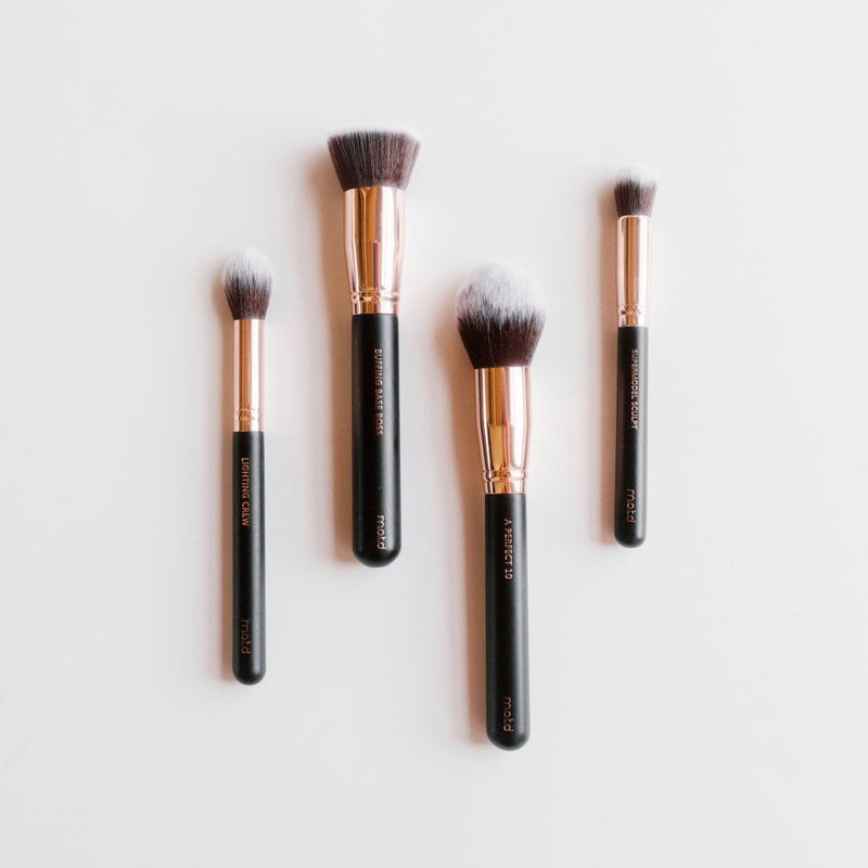 Chic Happens Contour Highlight Makeup Brush Set - M.O.T.D Cosmetics | Vegan Concept Hong Kong