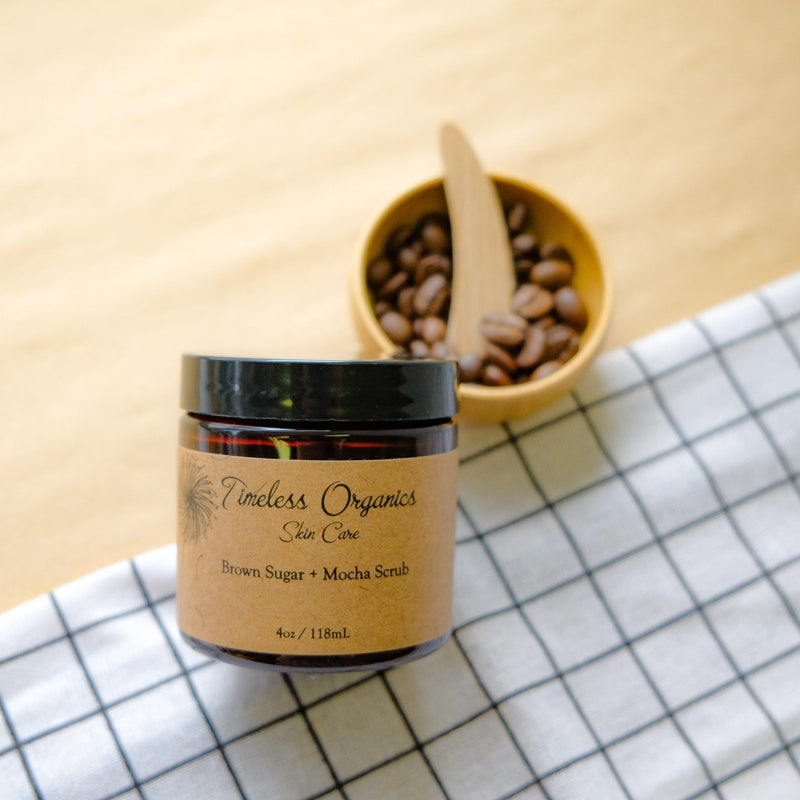 Timeless Scrub - Brown Sugar + Mocha - Timeless Organics | Vegan Concept Hong Kong