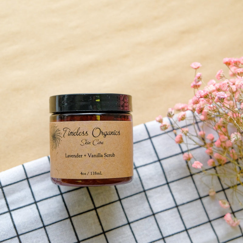 Timeless Scrub - Lavender + Vanilla (To be opened by 10/20) - Timeless Organics | Vegan Concept Hong Kong