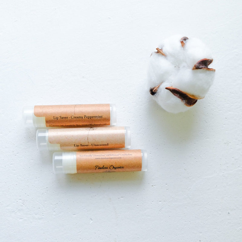 Timeless Lip Saver (3pcs) - Timeless Organics | Vegan Concept Hong Kong
