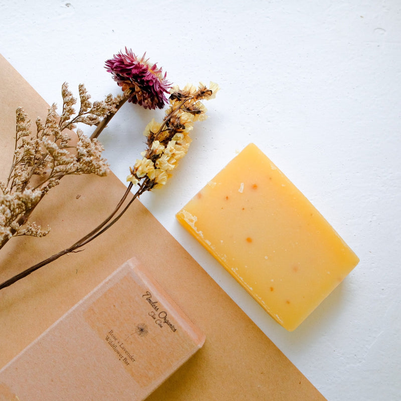 Timeless Wildflower Bar Soap - Rose + Lavender