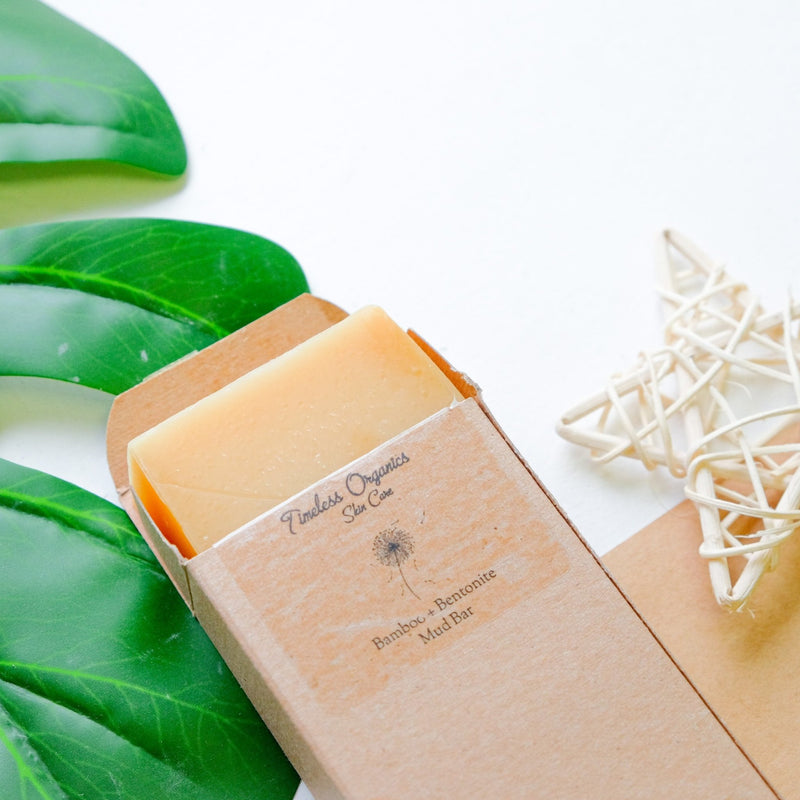 Timeless Mud Bar Soap - Bamboo + Bentonite - Timeless Organics | Vegan Concept Hong Kong