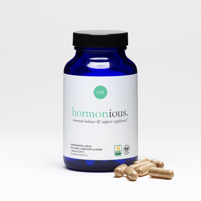 Hormonal Balance & Support Capsules - 90 tablets - Ora Organic | Vegan Concept Hong Kong