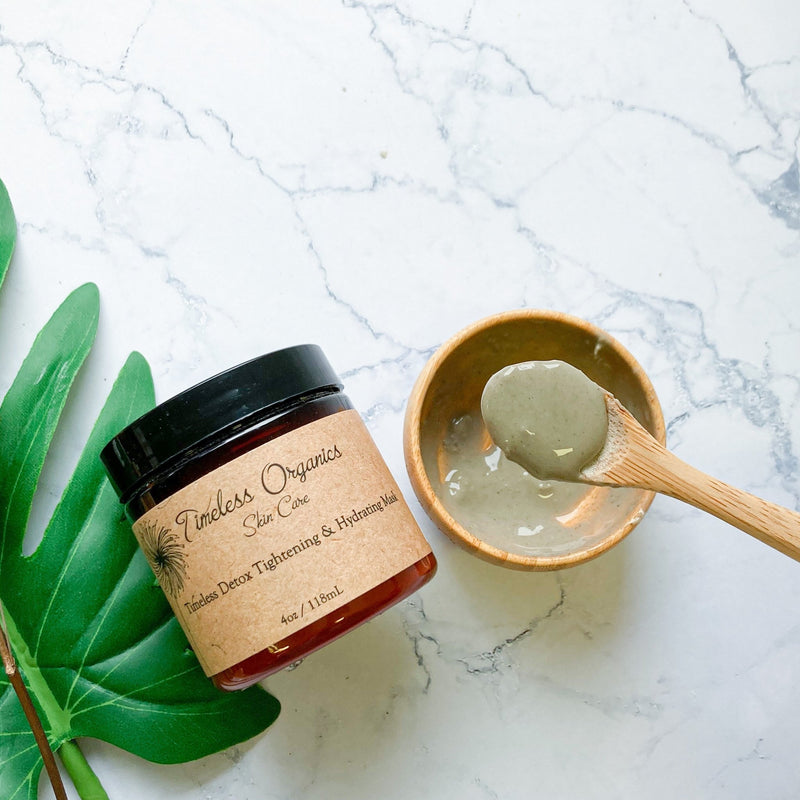 Timeless Detox Tightening & Hydrating Mask - Vegan Concept