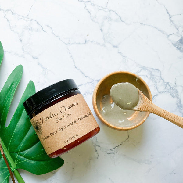 Timeless Detox Tightening & Hydrating Mask Kit - Timeless Organics | Vegan Concept Hong Kong