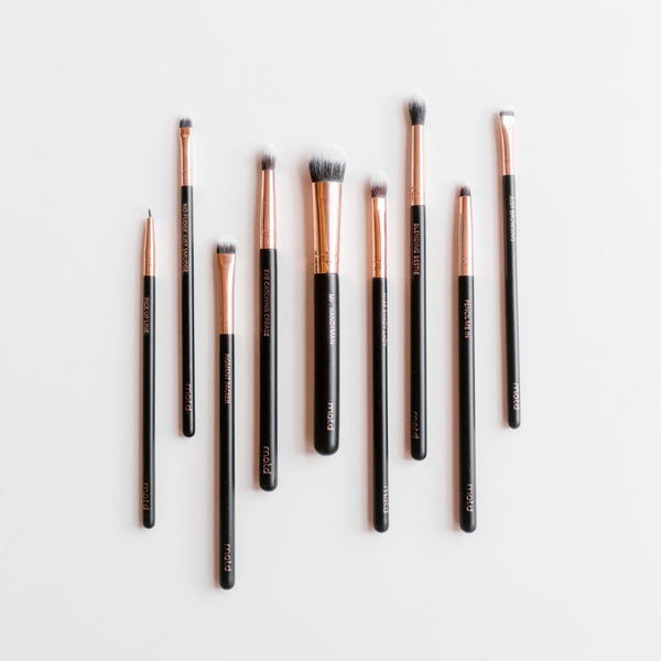 Lux Vegan Eye Makeup Brush Set - Vegan Concept