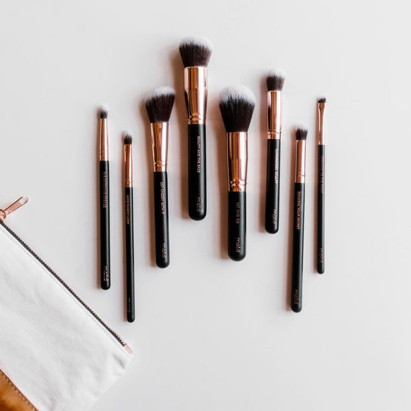 Lux Vegan Makeup Brush Essentials - Vegan Concept