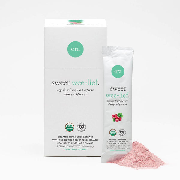 Organic Cranberry UTI Relief Powder - Urinary Health 9.4g x 7 sachets - Ora Organic | Vegan Concept Hong Kong