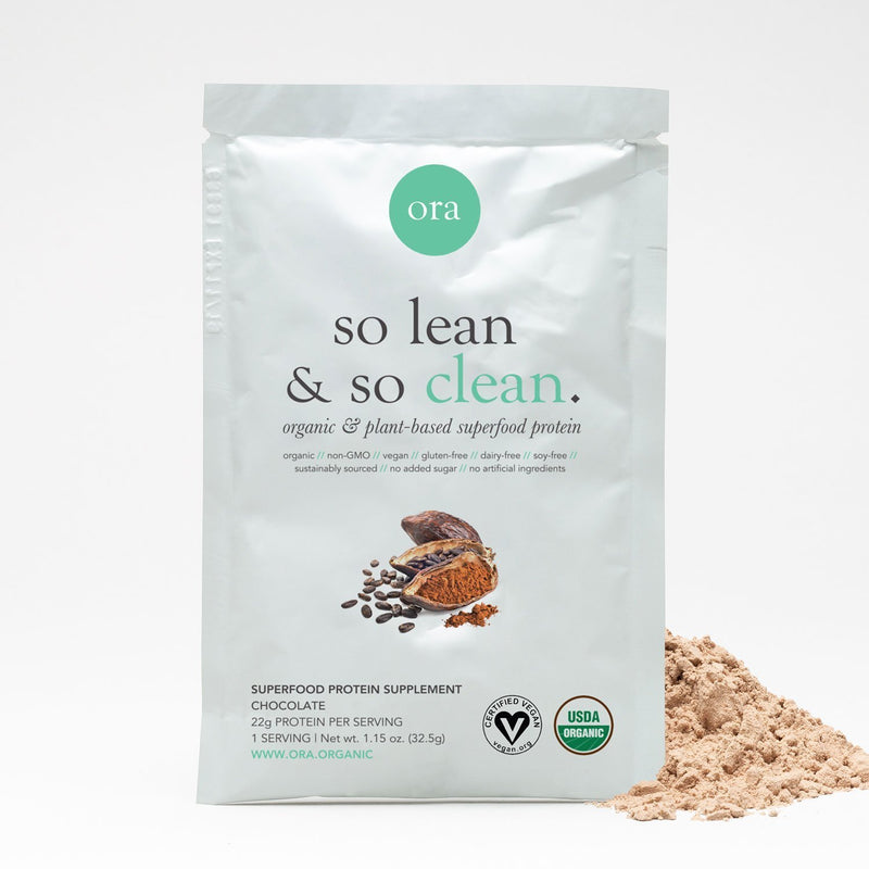Organic Protein Powder - Chocolate - 32.5g - Vegan Concept
